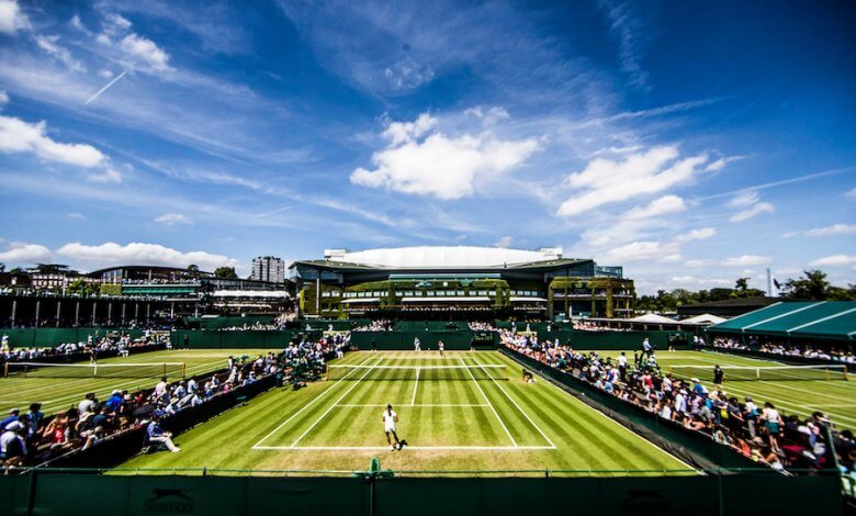 Tennis Lawn Image