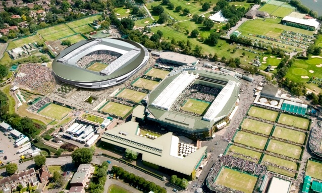 Wimbledon Tennis Courts