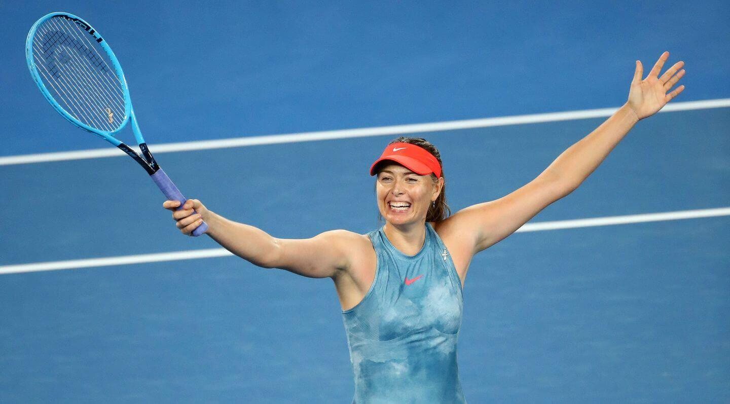 Photo of Maria Sharapova Again In Action In Australian Open 2020