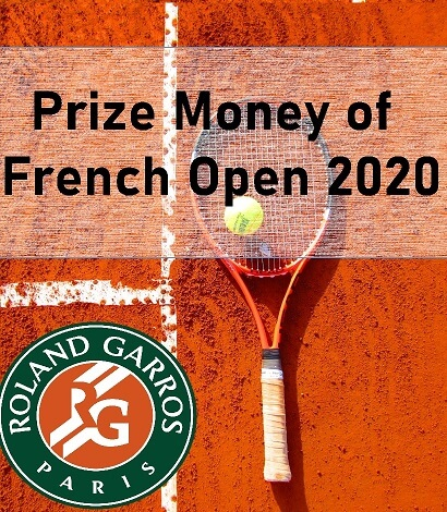 French Open 2020 Prize Money