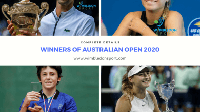 Photo of Australian Open Winners Men's & Womens in Singles and Doubles
