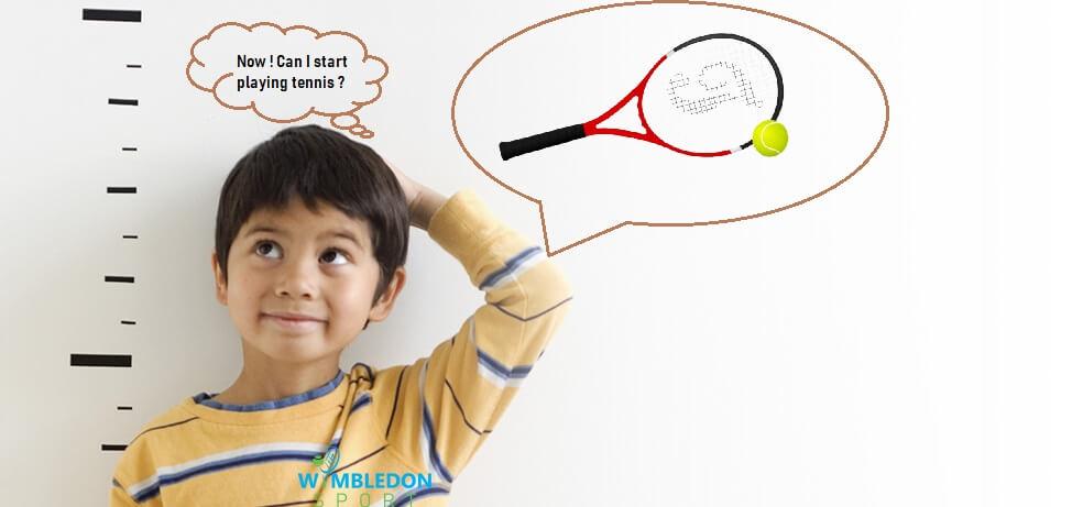 When a kid should start playing tennis-Best Kids Tennis Racquet