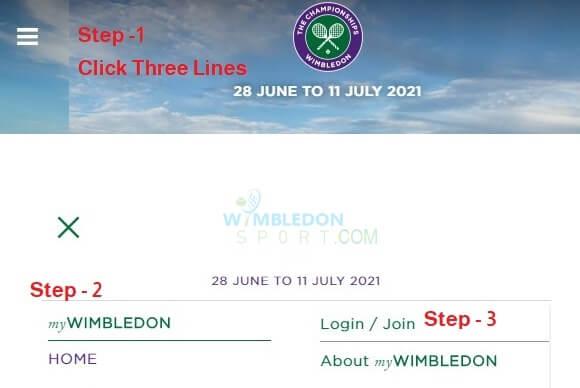 myWimbledon Registration Process-buy get cheap wimbledon tickets