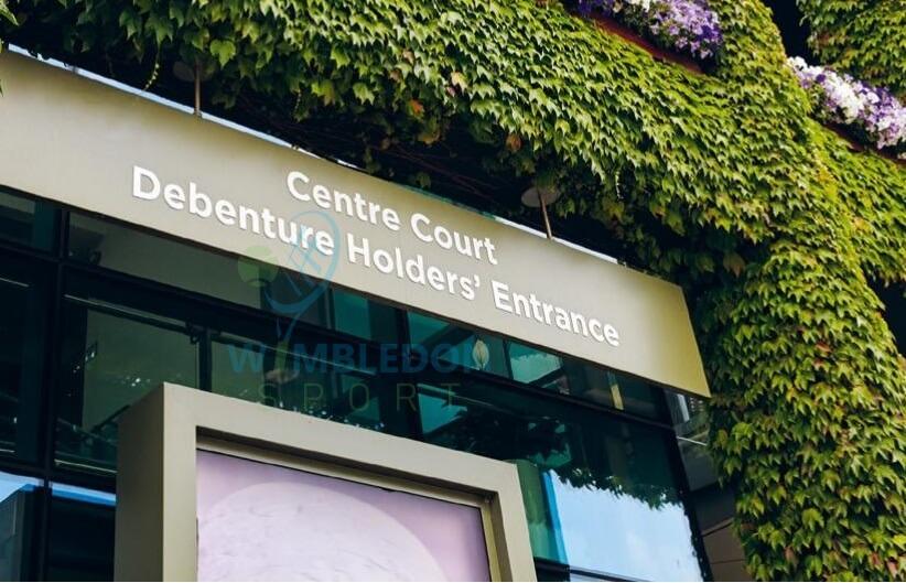 Wimbledon Debenture Ticket Holders Center Court Entrance Image-buy-cheap-wimbledon-tickets
