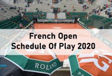 Photo of French Open 2020 Schedule
