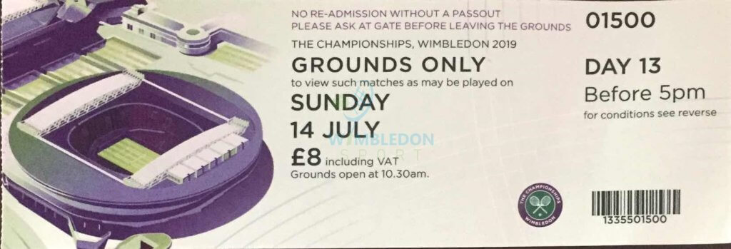 Ground Pass for Wimbledon-buy get cheap Wimbledon tickets