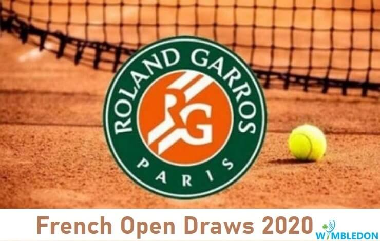 French Open 2020 Men's and Women's Draw Image