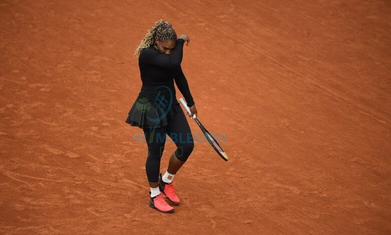 serena williams french open roland garros 2020 withdraw image