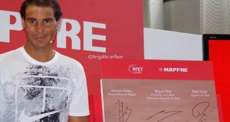 Rafael Nadal insurance mapfre sponsors net worth