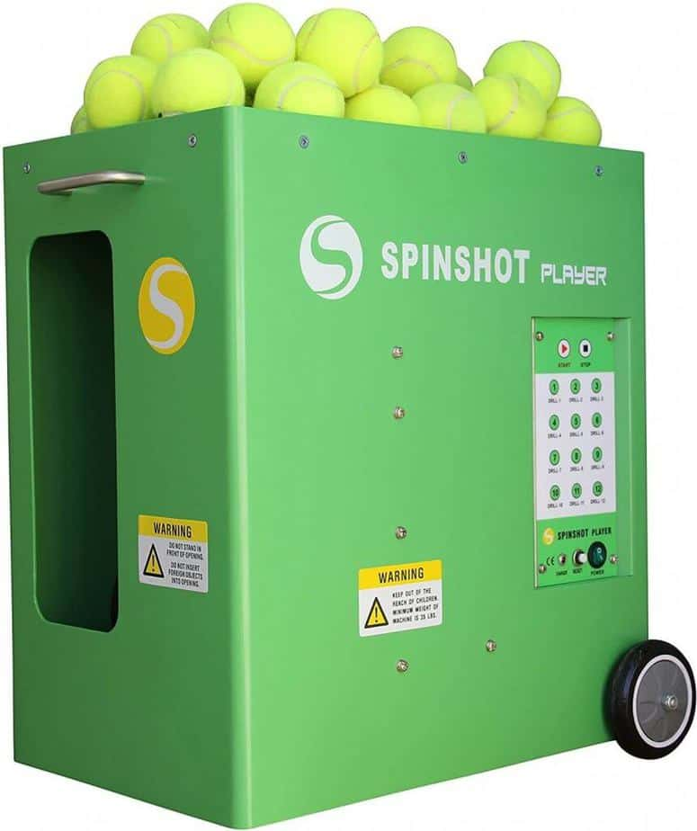 Spinshot-Player - Best Selling Tennis Ball Machine in the World