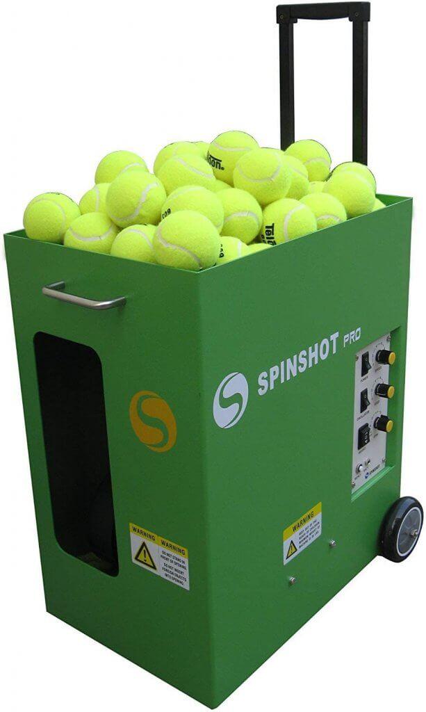 Spinshot Pro - Best Battery-Powered Tennis Ball Machine Review