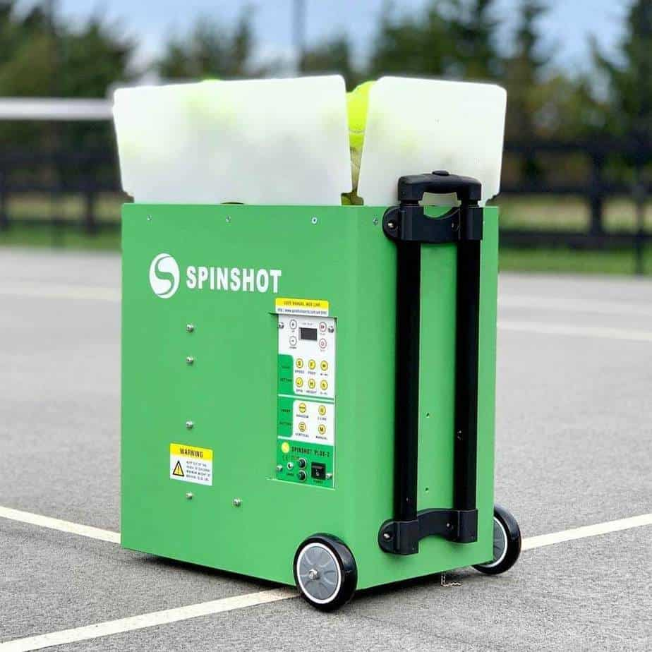 Spinshot Plus-2 - Best Tennis Ball Machine For The Money among Top 5 Machines