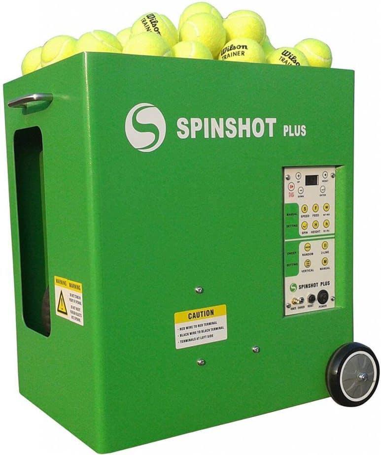 Spinshot Plus Machine - Best Tennis Ball machine for Intermediate to Advanced Player