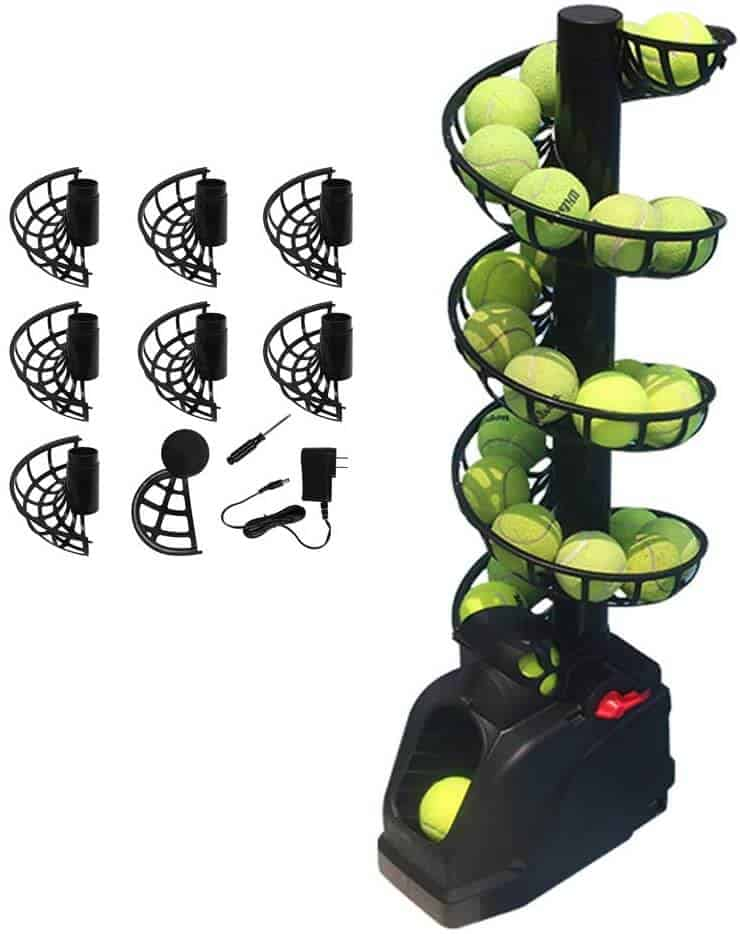 YUEWO Machine For Kids and Adults - Best Small Tennis Ball Machine